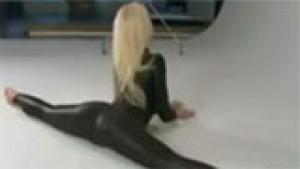 I want a bendy blonde!