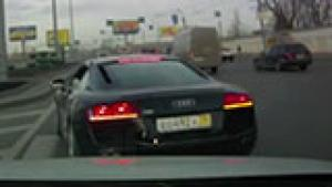R8 looking for a fight