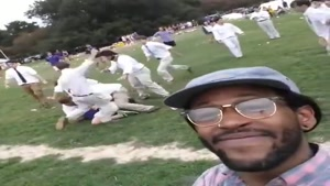 Black Man's View of Preppy White Fight