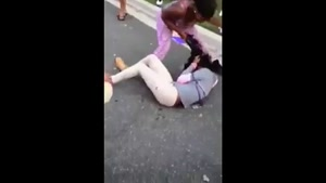 Girl Shit Herself in the Street