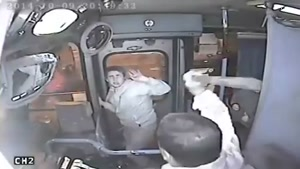 Purse Snatcher Fails -- Bus Driver Wins