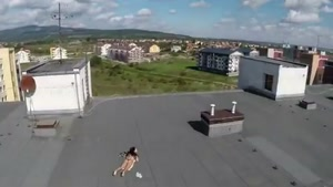Peeping Tom Uses Drone to Spy on Girl