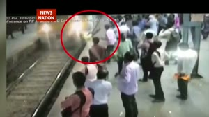 Pregnant Lady Pushed Under Train